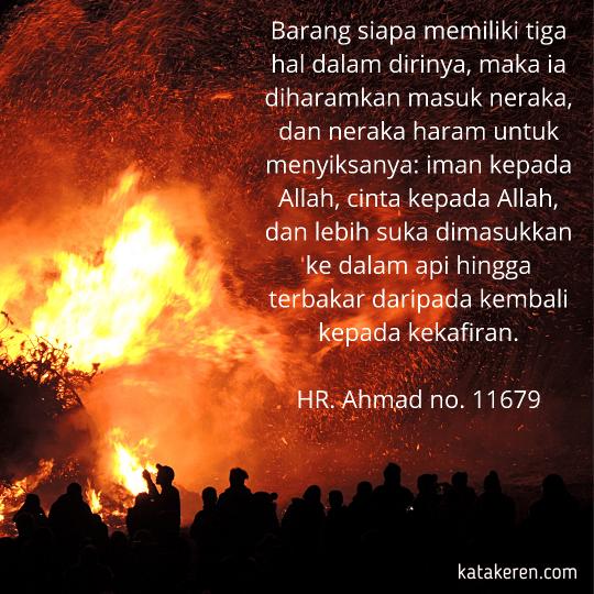 Hadits Tentang Haram Disentuh Api Neraka 1