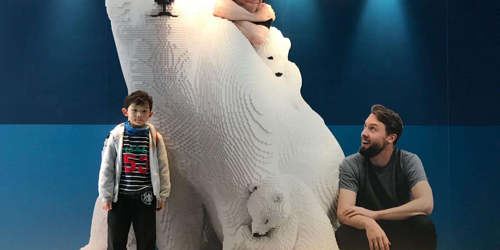 超越人類的美感極限   Sean Kenney's 樂高大動物奇蹟 展覽必看重點