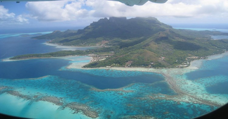 蜜月旅行到太平洋上的明珠   Bora Bora 練習曲