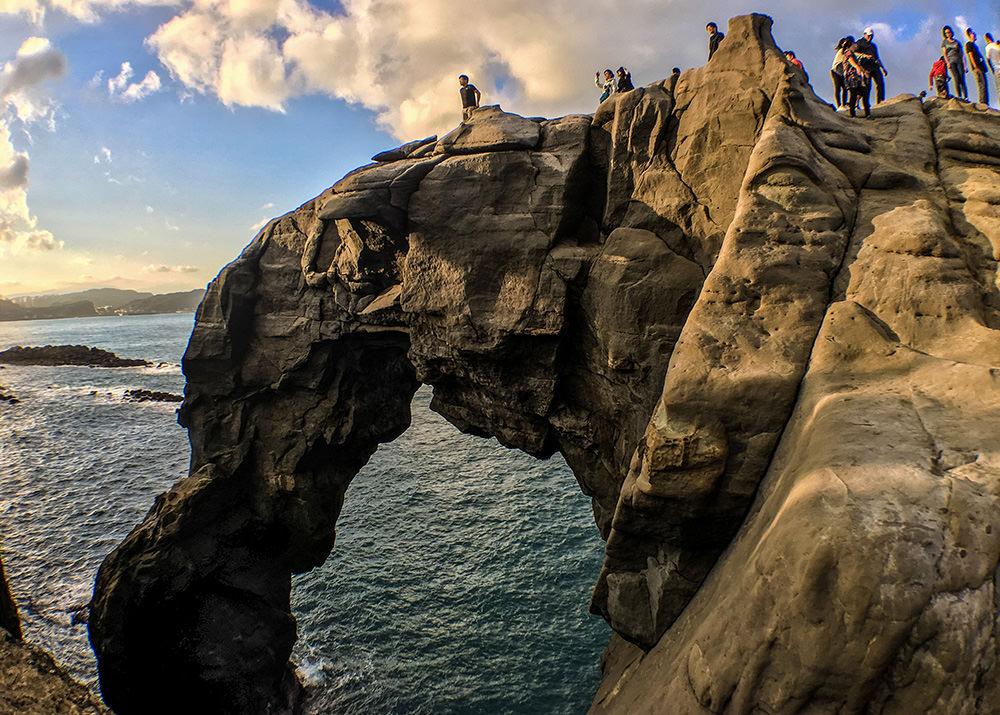 北海岸之美   深澳象鼻岩