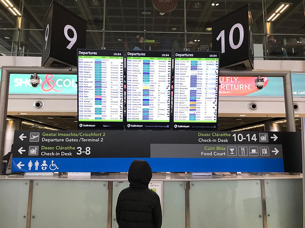 【愛爾蘭】 都柏林機場   機場交通攻略 X  機場物價揭秘 (含影片)