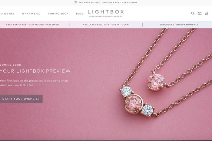 De Beers 新品牌賣人造鑽石 | 「Lightbox 燈箱」鎖定千禧消費族群 投下珠寶震撼彈