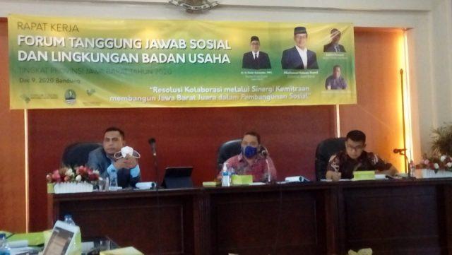 Forum Tanggung Jawab Sosial dan Lingkungan Badan Usaha Provinsi Jabar : Sinergi Kemitraan untuk Pembanguna Sosial