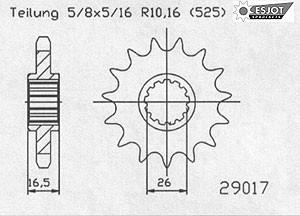 Kit Honda CB 600 F Hornet`07- (PC41)-259-K