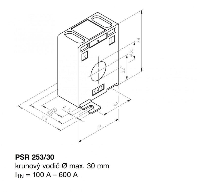 PSR 253/30 400/5 5,0 1-WR 30 60-30