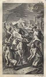 MONFORT - Don Quijote, Las tres Aldeanas, 1771