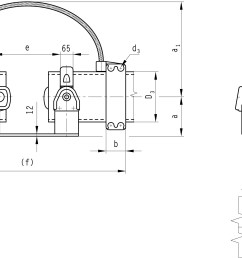 b 6 1 al clamps support sliding fixed for al tube and base plate [ 2472 x 1392 Pixel ]