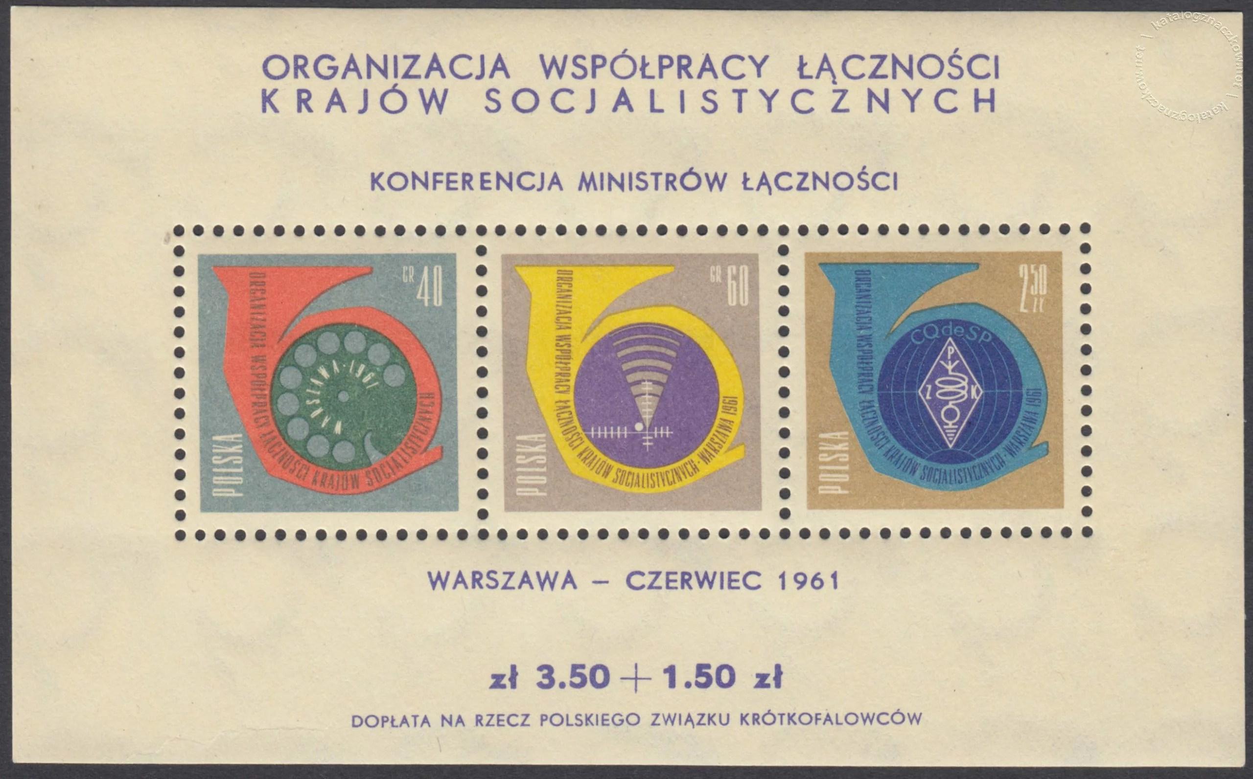 Konferencja Ministrów Łączności Krajów Socjalistycznych – Blok 22