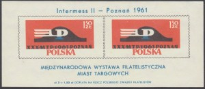 Międzynarodowa Wystawa Filatelistyczna Miast targowych - Blok 23I