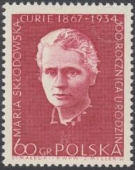 100 rocznica urodzin Marii Skłodowskiej Curie - 1630