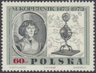 500 rocznica urodzin Mikołaja Kopernika - 1779
