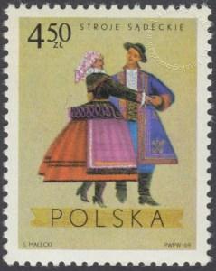 Polskie stroje Ludowe - 1809
