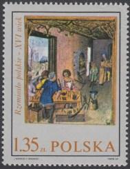 Rzemiosło polskie w XVI wiecznym malarstwie z kodeksu Baltazara Behema - 1818