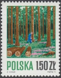 Gospodarka leśna - 1922