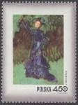 Dzień Znaczka - kobieta w malarstwie polskim - 1968