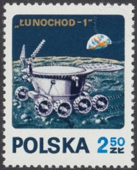 Badanie kosmosu Łunochod 1 i Apollo 15 - 1975