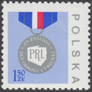 Medal Za zasługi dla obrony cywilnej - 2338