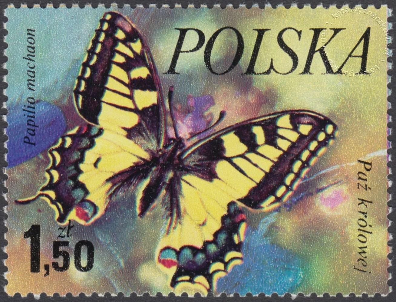 Motyle znaczek nr 2372