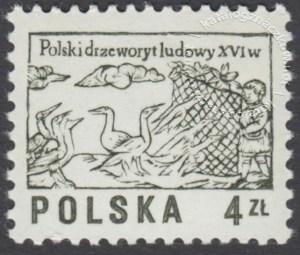 Polski drzeworyt ludowy XVIw. - 2390