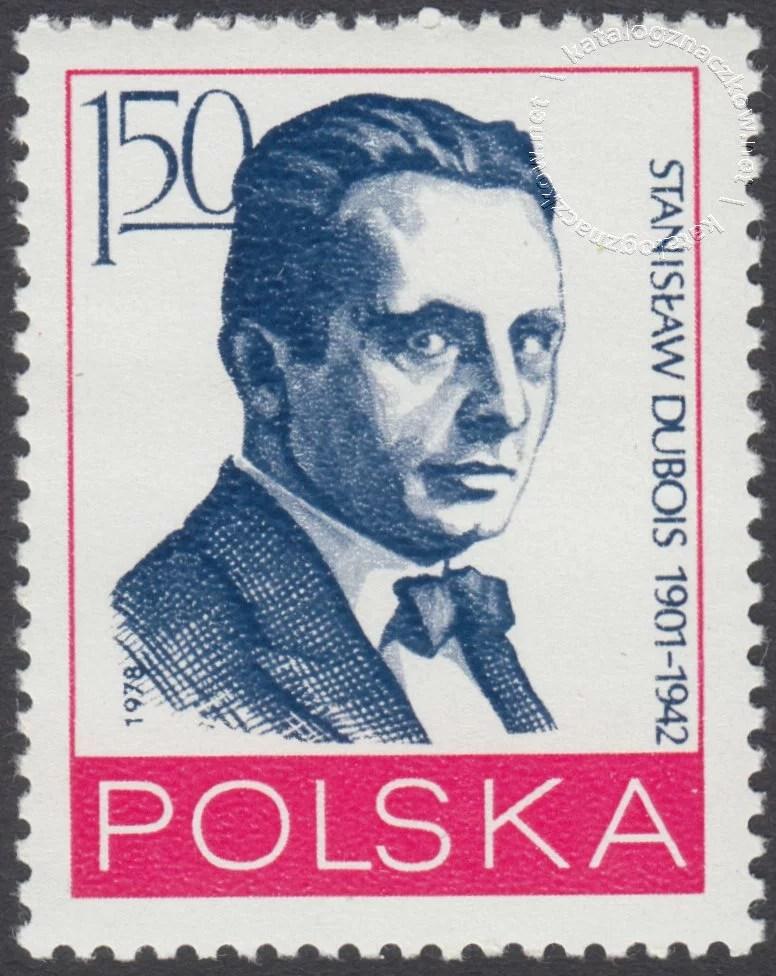 Działacze polskiego ruchu robotniczego znaczek nr 2454