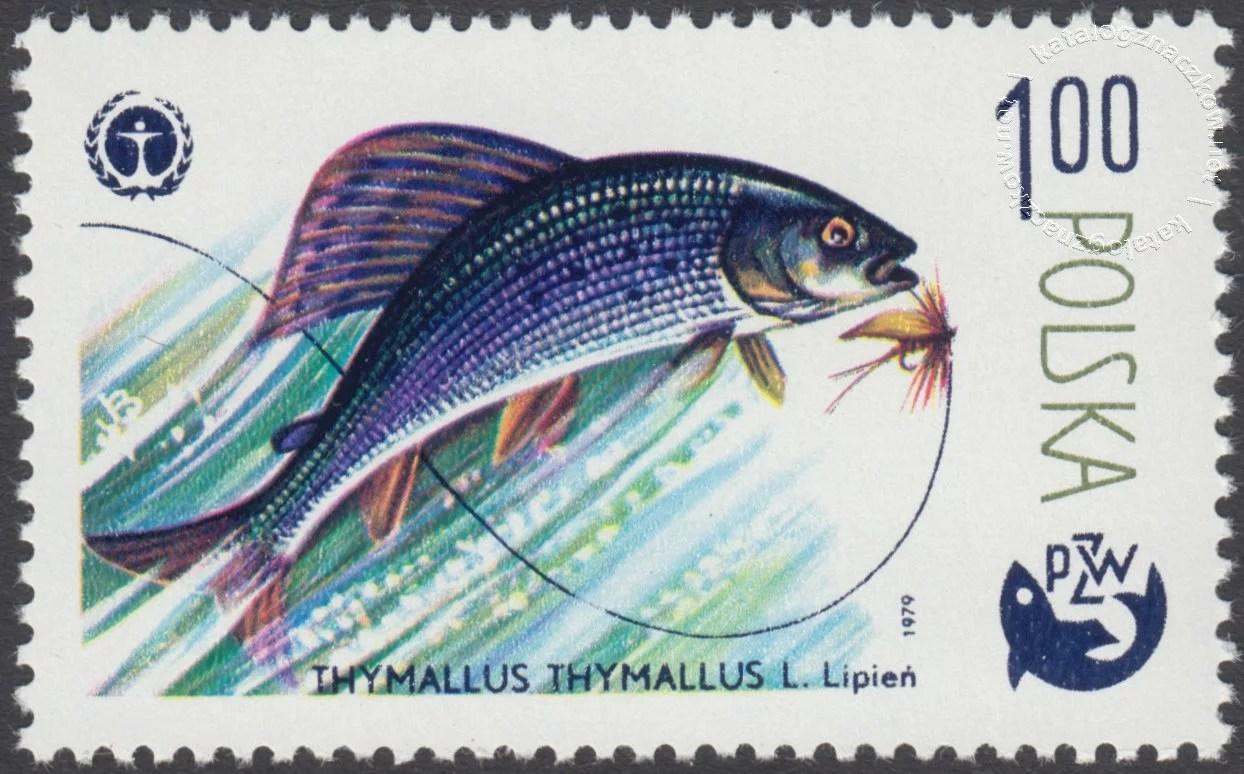 100 lat wędkarstwa polskiego znaczek nr 2472