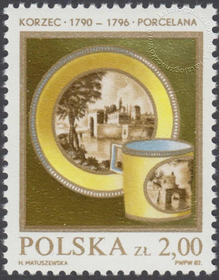 Polska ceramika szlachetna znaczek nr 2646