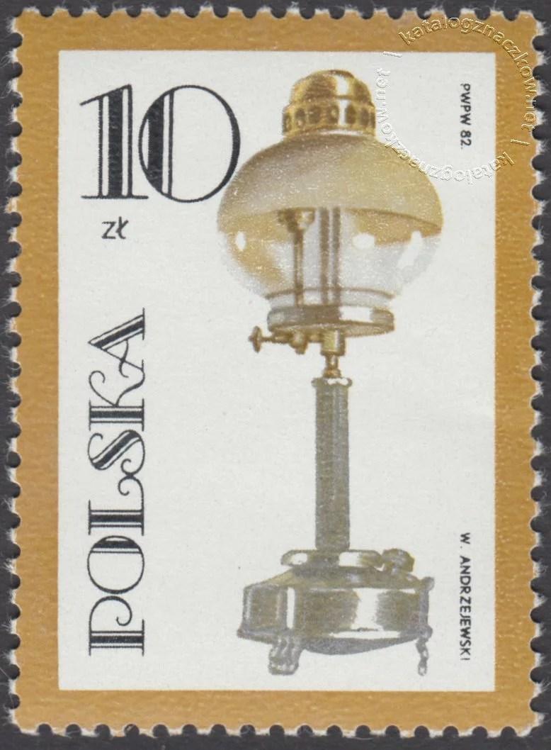 100 rocznica śmierci Ignacego Łukaszewicza znaczek nr 2656