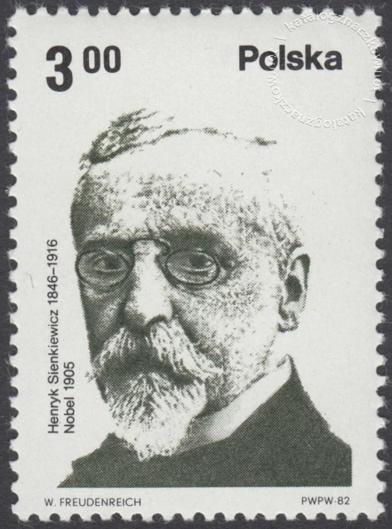 Polscy laureaci Nagrody Nobla znaczek nr 2660