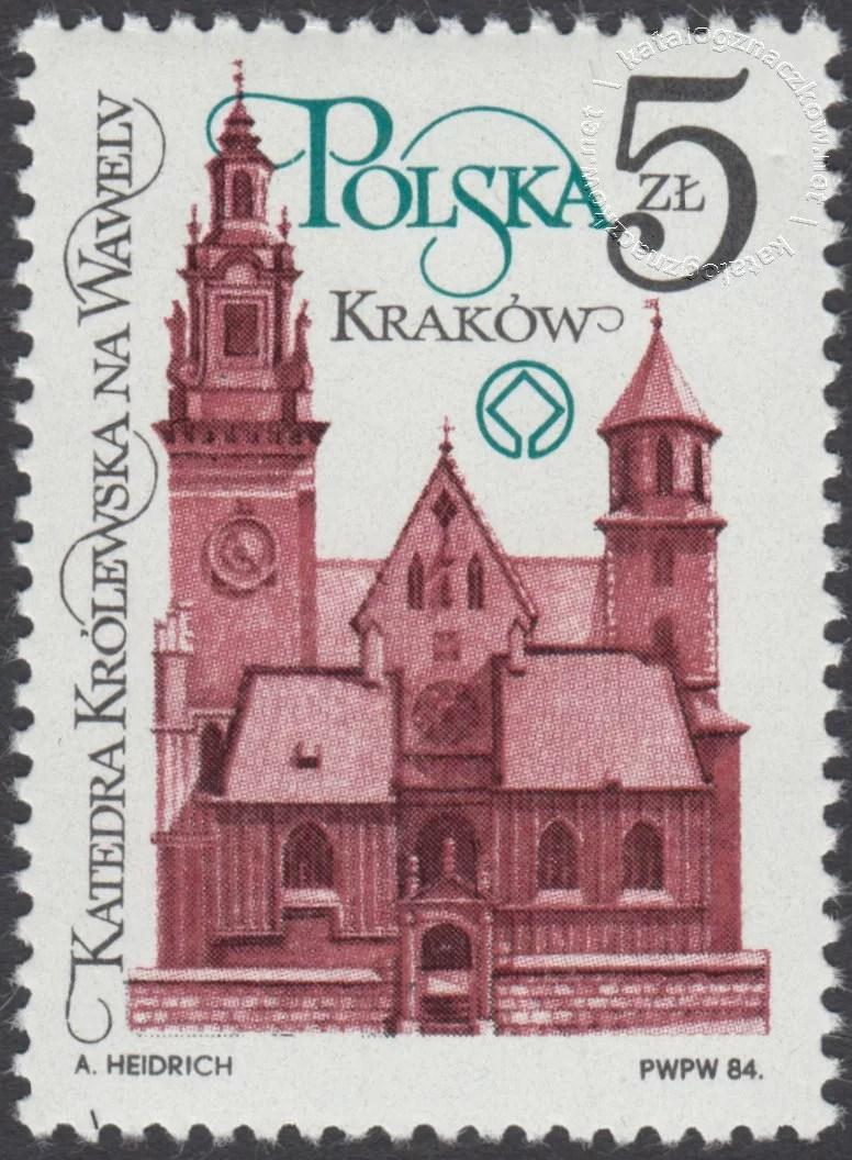 Odnowa zabytków Krakowa znaczek nr 2804