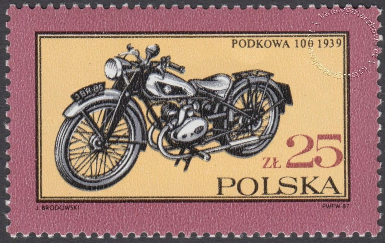 Dawne polskie samochody i motocykle znaczek nr 2948