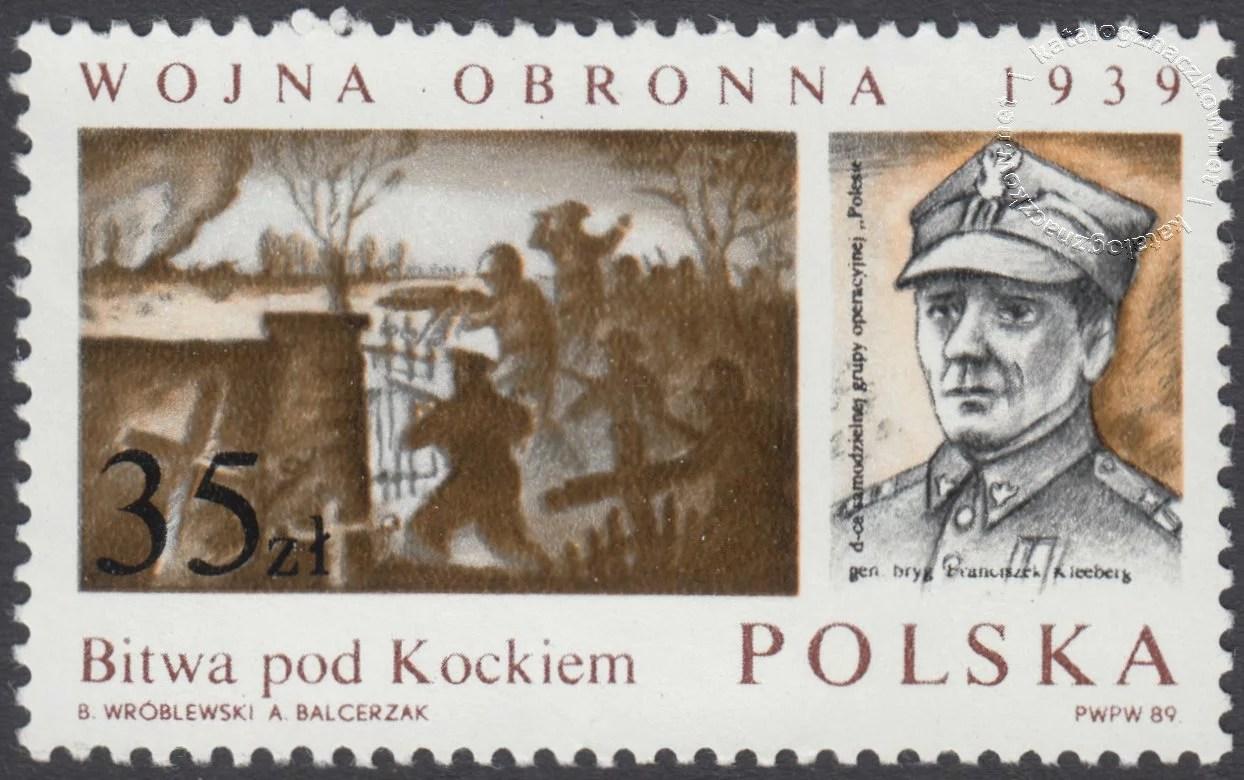 50 rocznica Wojny Obronnej 1939 znaczek nr 3070