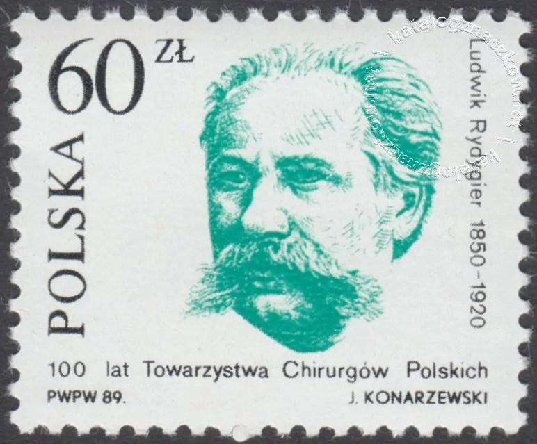 Chirurdzy polscy znaczek nr 3074