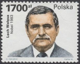 Lech Wałęsa - laureat Pokojowej Nagrody Nobla w 1983 roku - 3152