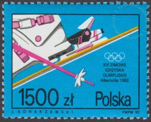 XVI Zimowe Igrzyska Olimpijskie w Albertville - 3221
