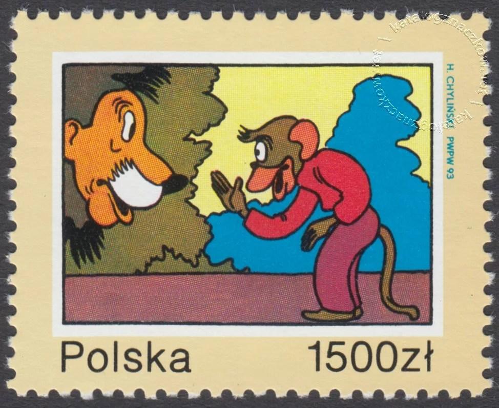 40 rocznica śmierci Kornela Makuszyńskiego znaczek nr 3304