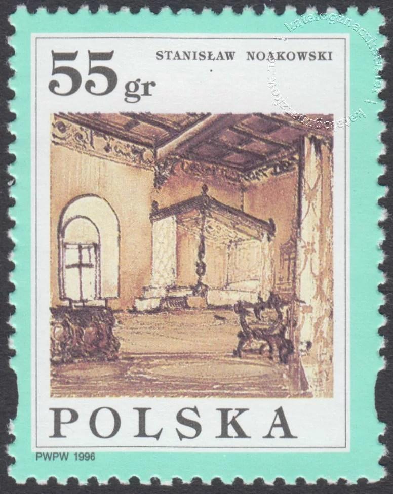 Malarstwo Stanisława Noakowskiego znaczek nr 3452