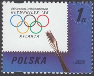 Światowa Wystawa Filatelistyczna Olymphilex 96 w Atlancie - 3456