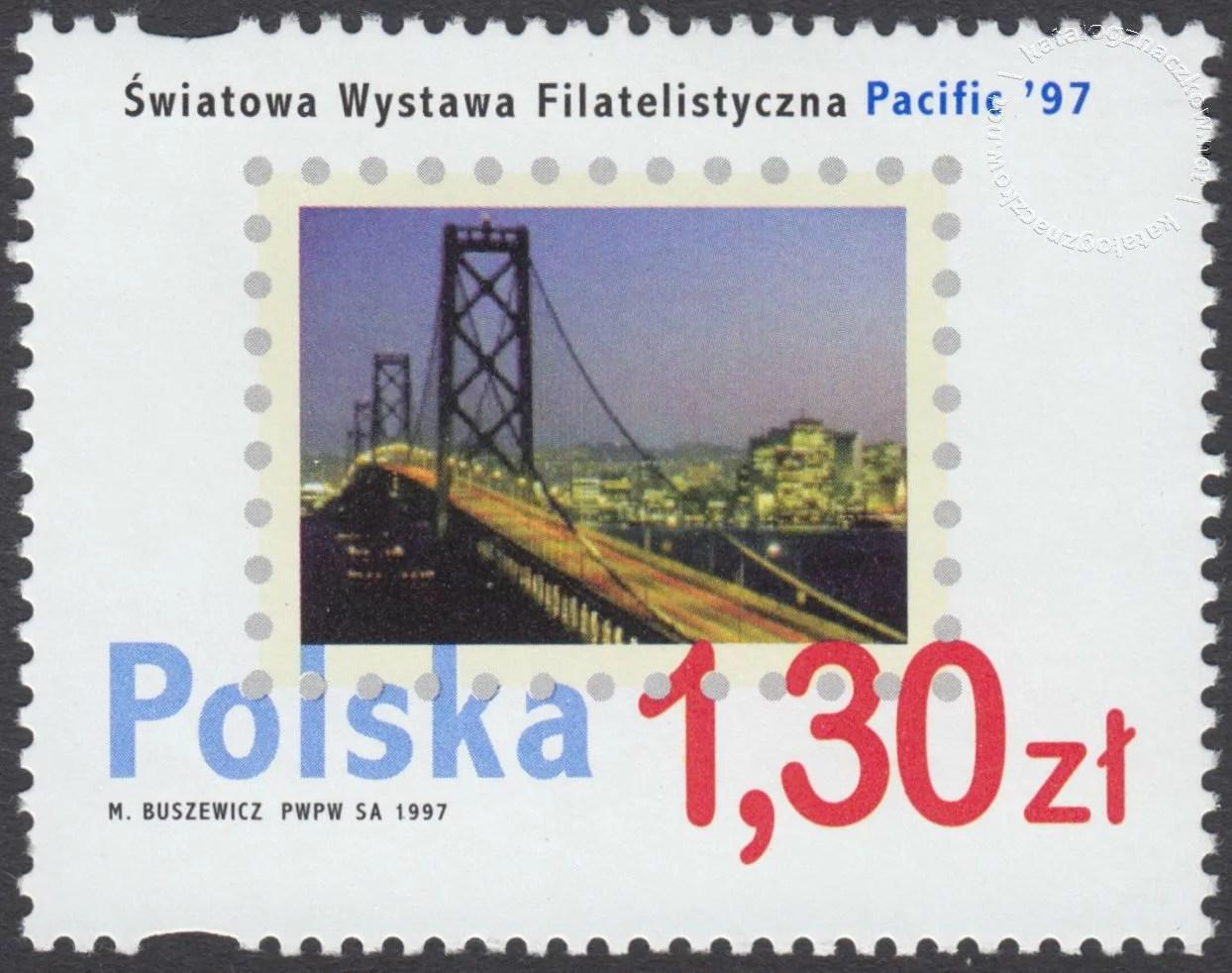 Światowa Wystawa Filatelistyczna Pacific 97 znaczek nr 3502