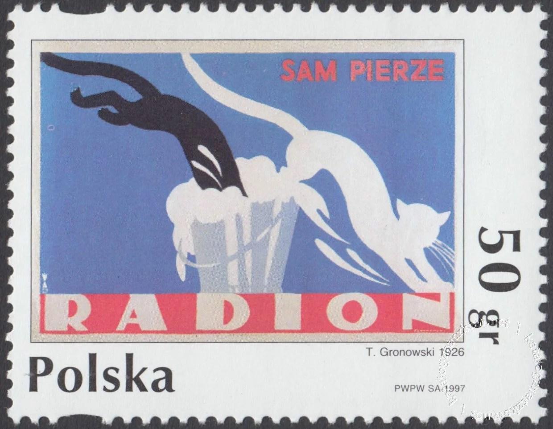 Plakat polski znaczek nr 3530