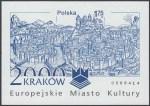Kraków - Europejskie Miasto Kultury roku 2000 - Blok 125A