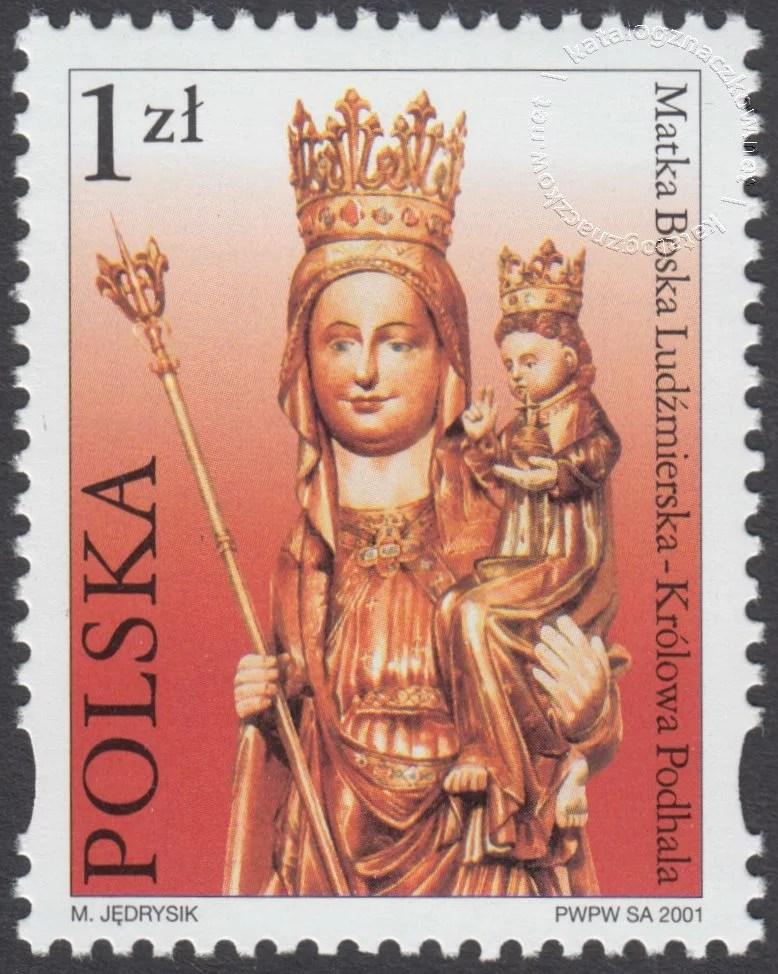 Sanktuaria Maryjne znaczek nr 3756
