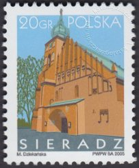 Miasta polskie: Sieradz - 4049