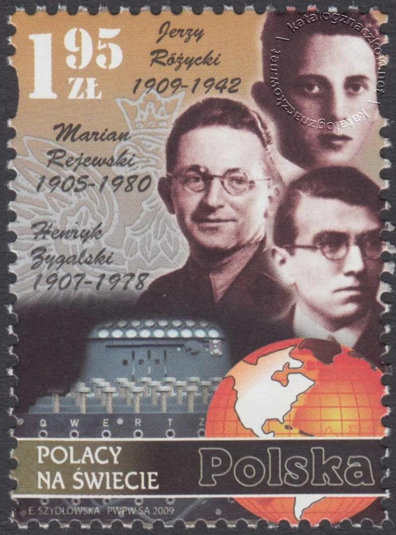 Polacy na świecie znaczek nr 4293