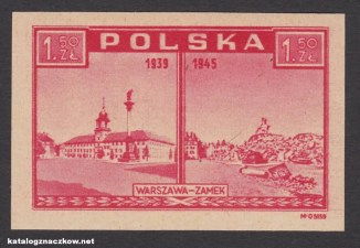 Zniszczenia wojenne Warszawy - Warszawa oskarża - 380