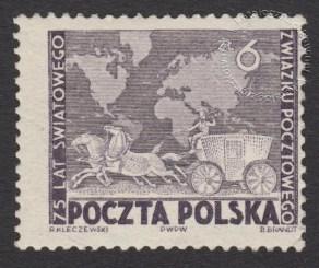 75 rocznica Światowego Związku Pocztowego (UPU) - 498