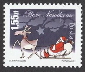 Boże Narodzenie - znaczek nr 4392