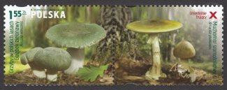 Grzyby w polskich lasach - znaczek nr 4429