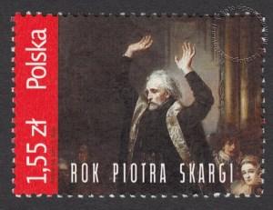 Rok Piotra Skargi - znaczek nr 4434