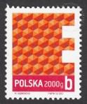 Znaczek obiegowy ekonomiczny - 2000 g B - E - znaczek nr 4465