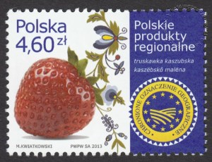 Polskie produkty regionalne - znaczek nr 4468